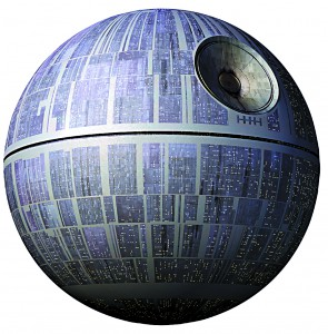 No, the US government is not going to be building a Death Star any time soon.