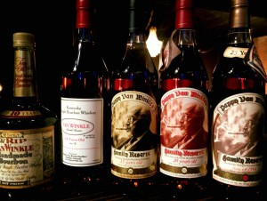 Van Winkle bourbon is highly rated, rare and hard to obtain. Preston believes Etsi Bravo is the only bar east of the Cascades to have some.
