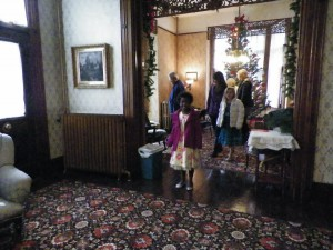 People can visit McConnell Mansion for an old-fashioned Victorian Christmas.