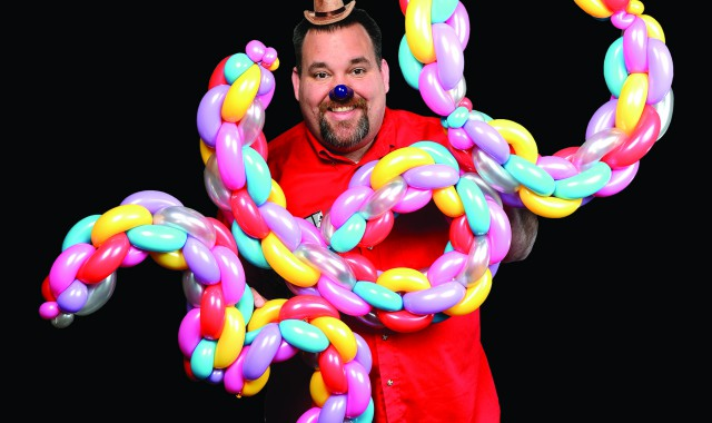 From lightsabers to motorcycles, Clarkston clown has a passion for balloon twisting