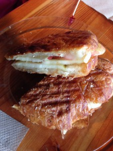 Apple Honey Croissant at One World Cafe in Moscow