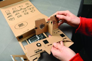 For $19.99 you can purchase I AM CARDBOARD a vitual reality cardboard kit from Google.