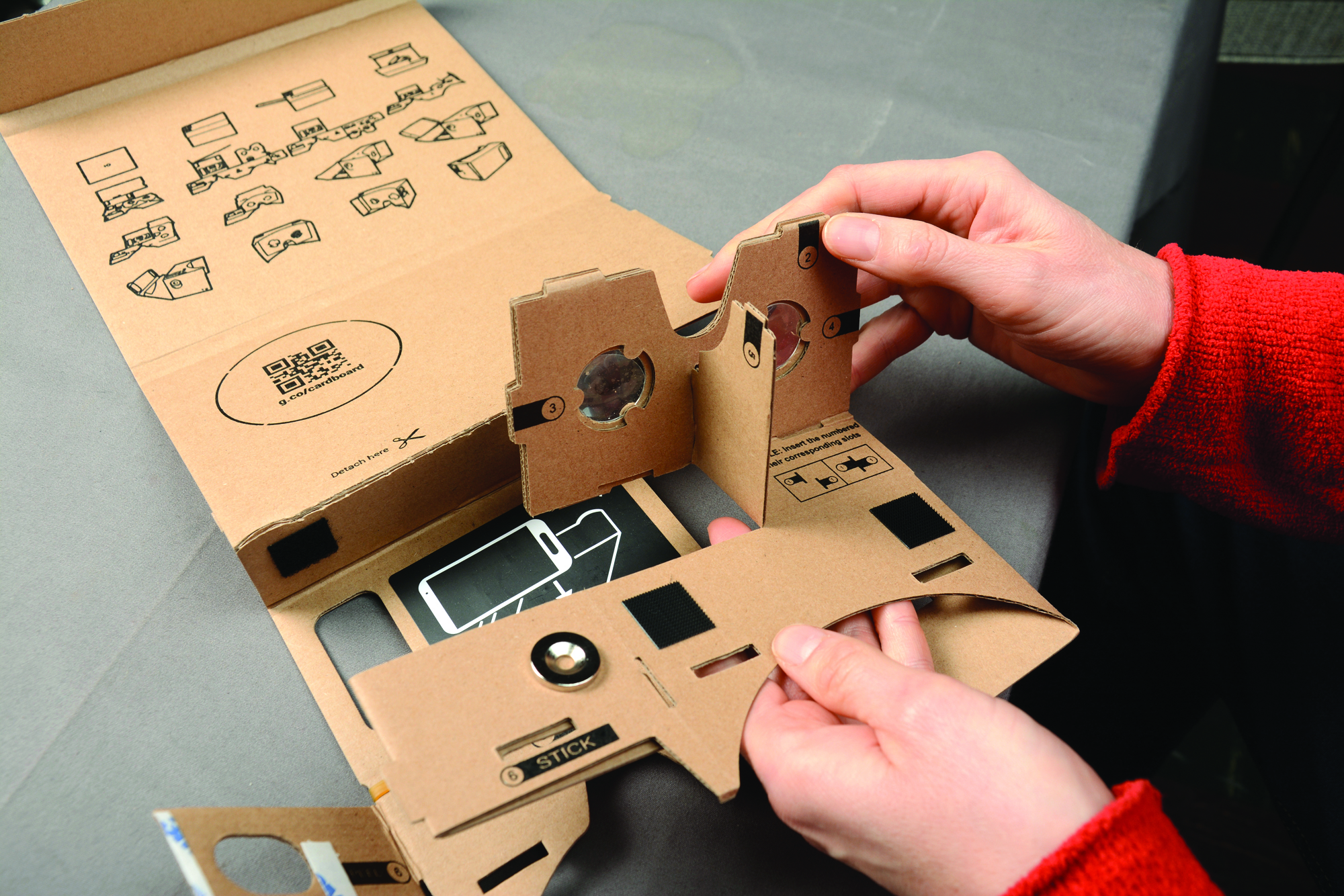 ba8845abaa5 For  19.99 you can purchase I AM CARDBOARD a vitual reality cardboard kit  from Google.