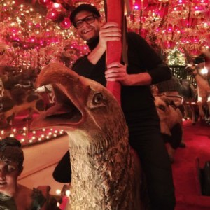 """Bryan Fuller rides a carousel while scouting locations for """"American Gods."""""""