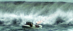 """In this image released by Disney shows a scene from, """"The Finest Hours,"""" a heroic action-thriller based on the true story of the most daring rescue in the history of the Coast Guard. (Disney via AP)"""