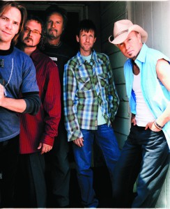 "Members of Sawyer Brown are (from left) Shayne Hillis, Joe Smyth, Jim Scholten, Gregg ""Hobie"" Hubbard and Mark Miller."