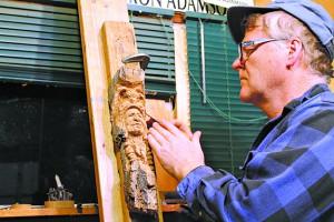 Montana sculptor Ron Adamson joins painters Betty Billups and Robert Walton for an exhibit opening April 1 at Clarkston's Valley Art Center.