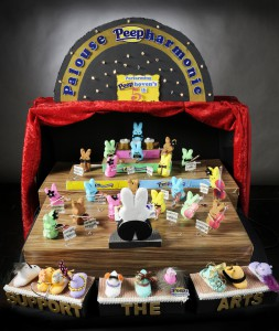 "The winner of the 2015 360 Peeps Diorama Contest was ""Palouse Peeharmonic"" by Inga Kingsley, Diane Worthey and Amy Browse."