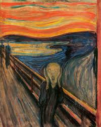 """The Scream"" by Edvard Munch."