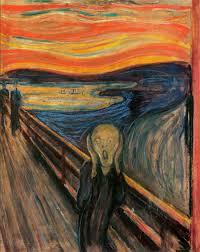 """The Scream"" by Edvard Munch."