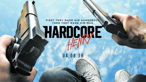 """Hardcore Henry"" an action movie entirely shot in first-person."