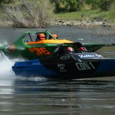 Jet Boats Racing on the Snake River