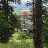 Springtime Monastery of St. Gertrude
