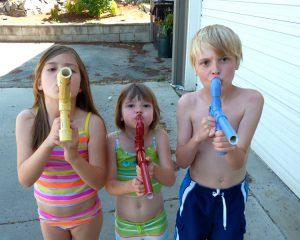 marshmallow gun - kids