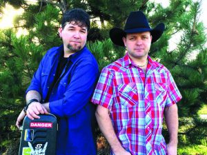 Country artists Keith Ochoa (left) and Lucky Rowland will perform Saturday in Uniontown.