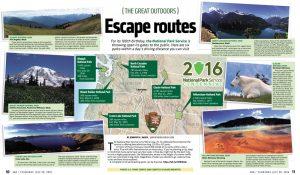 Escape-routes