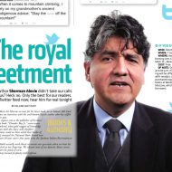 Author Sherman Alexie gets the royal tweetment