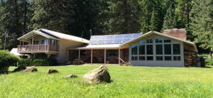 """This self-sufficient Orofino home was chosen to be featured in an upcoming episode of """"Unplugged Nation"""" on the FYI channel."""