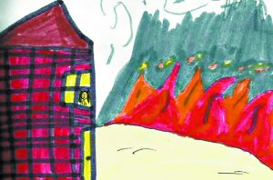 Poetry on Fire by Kaylee of Nezperce Elementary.