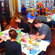 Library fun nights give adults a chance to tap their inner child