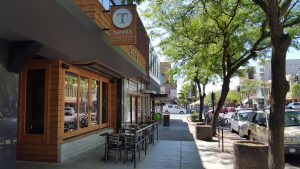 Tapped, on Main Street in Moscow, features 50 to 60 different regional craft beers each month.