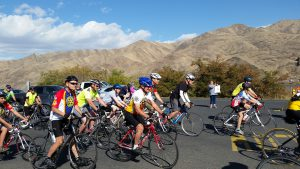 Cyclists take on the 2015 Rotary Rivers & Ridges Ride which will take place Saturday, Oct. 1 this year.