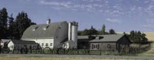 The newest addition to Artisans at the Dahmen Barn is called the Loafing Shed after the old farm building that was in the same location. Tours of the new building are planned Oct. 9.