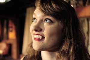 """Bailey Page plays one of Dracula's brides in the Pullman Civic Theatre production of """"Dracula."""""""