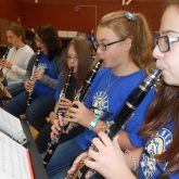 Clarinets for District II North Mass Band