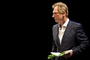 "Julian Sands in ""A Celebration of Harold Pinter."""