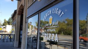 Located in downtown Pullman, Porch Light Pizza offers fast fast-fired pies.