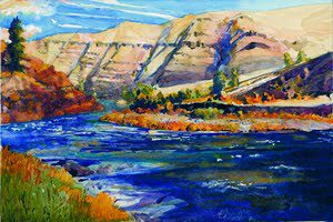 """Grand Ronde River X, Island,"" by Kenneth Dola"