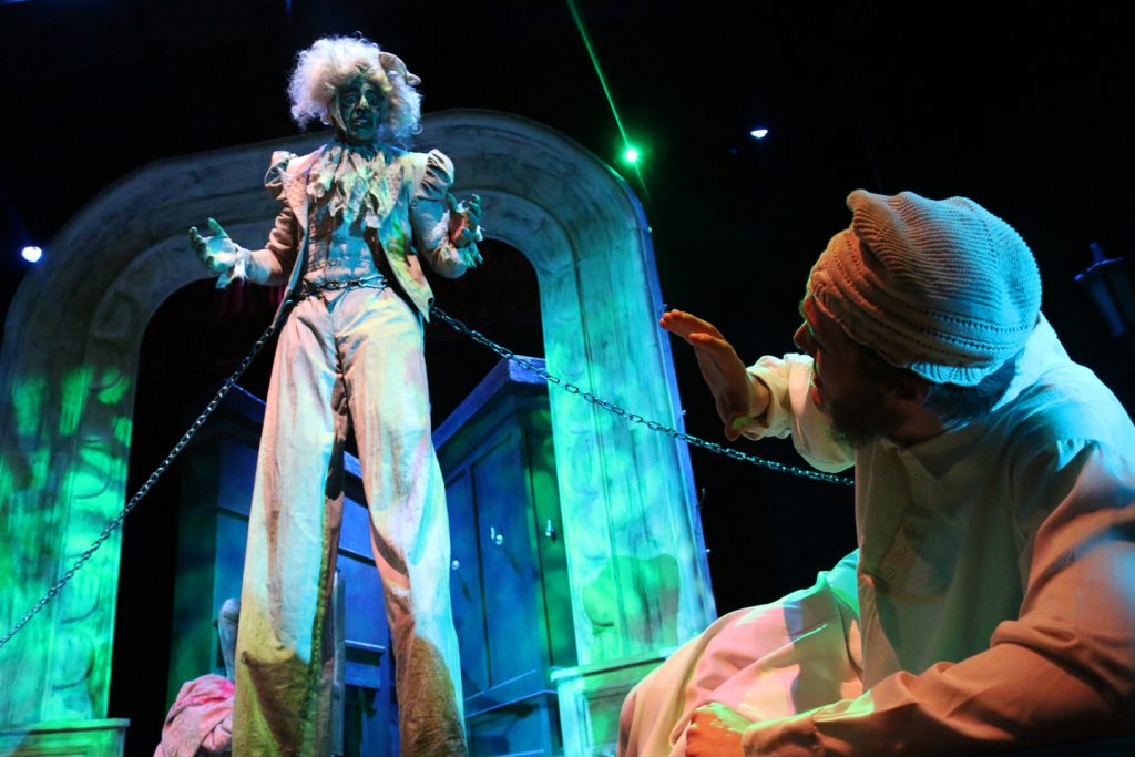 """A Christmas Carol,"" returns to the University of Idaho Theatre's stage this season."