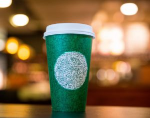 Starbucks commissioned a UI grad to design this cup to speak to customers during a devisive time in the nation.