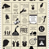 Holiday Bingo: Making light out of the madness