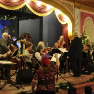 Old-fashioned Christmas variety show gathers community