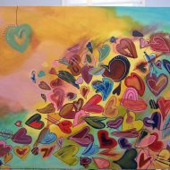 Artist profile: Clarkston artist takes up 'happy' painting
