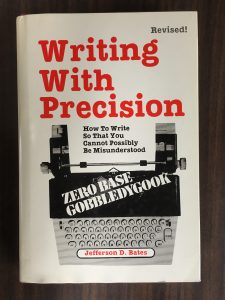 With the help of this book, your writing will be clear and have zero base gobbledygook, whatever that is.