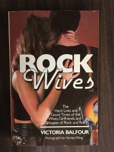 You didn't know you were curious about rock wives until now -- and now that you are, you'll never be satisfied until you read this book.