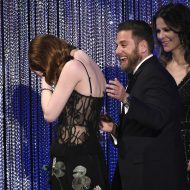Emma Stone's F-bomb among off-camera antics at SAG Awards