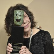 Lily Tomlin accepts SAG Life Achievement Award with humor
