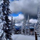 Snow at Hemlock Lookout