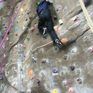Climbing the walls: UI climbing wall cold-weather option for family fun
