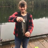 Fishing with my brother