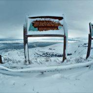 Fresh Snow Blankets Lewiston Hill Top