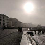 Misty morning in Venice