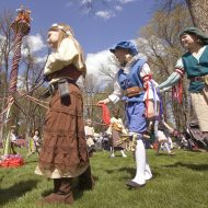 Find maypoles and magic at this weekend's Moscow Renaissance Fair