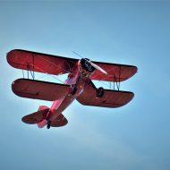 Vintage Plane Flying High