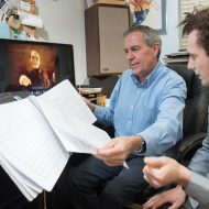 Silence, enhanced: Moscow composer scores again with silent film fundraiser