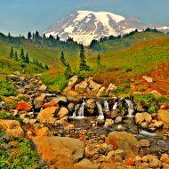 A view of Mt. Rainier
